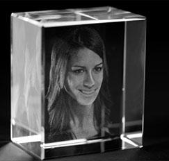 3D-Glasfotos